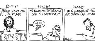 Miguel Porres 23F 1981 2021