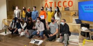 AticcoLab: participantes en la primera Pitch Competition Women Edition celebrada en Madrid. 17MAR2021