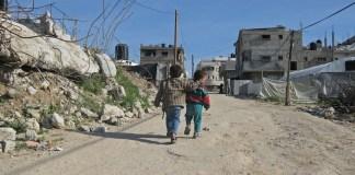 Banco Mundial Natalia Cieslik niños Gaza
