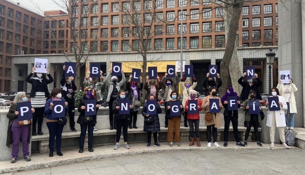 Movimiento Feminista de Madrid contra la pornografía