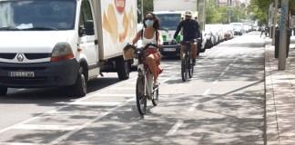Pedalibre: ejemplo de carril bici protegido