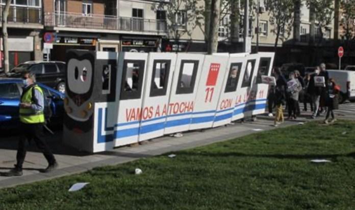 Vecinos Carabanchel alto L11 Vamos a Atocha