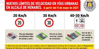 Alcalá límites de velocidad