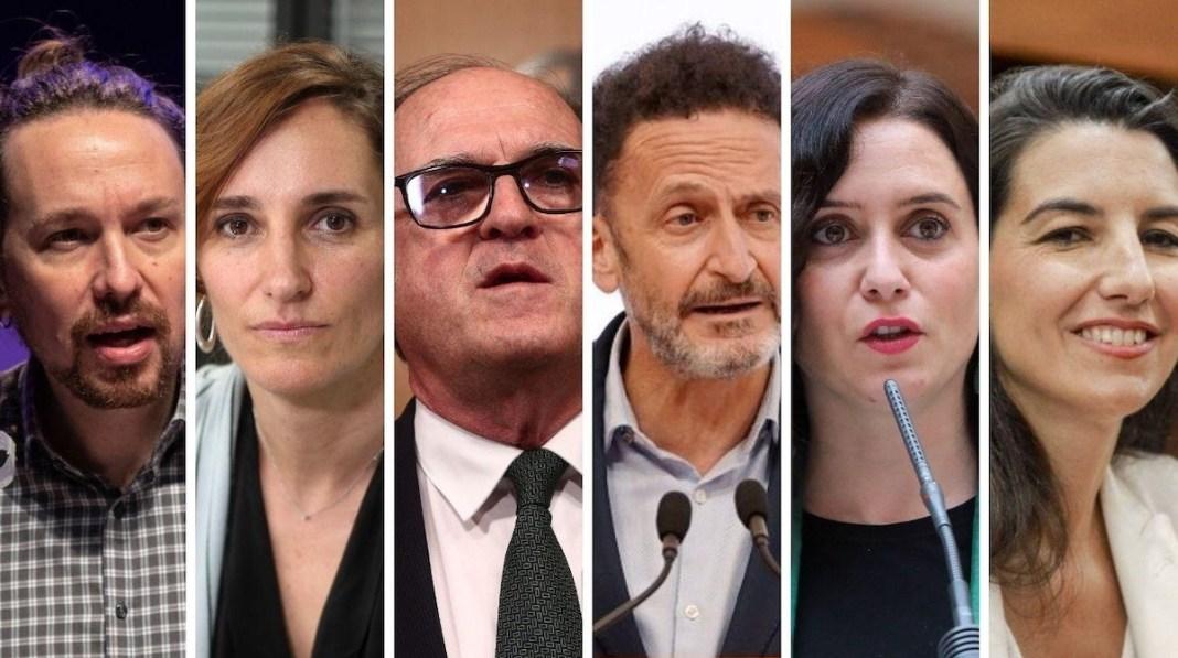 Candidatos a la presidencia de la Comunidad de Madrid el 4 de mayo de 2021