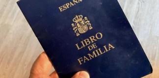 Libro de familia registro civil