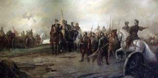 Batalla de Villalar 1887 de Manuel Picolo López