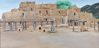 O Keeffe Pueblo de Taos 1929 1934