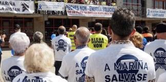 Alcoa trabajadores movilizaciones A mariña