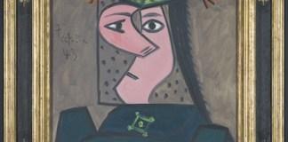 Buste de femme 43 Pablo Picasso 1943