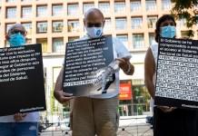Exclusión sanitaria protestas 26JUL2021