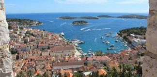 Costa Dálmata desde la muralla de Dubrovnik