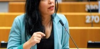 Idoia Villanueva en una sesión del Parlamento Europeo