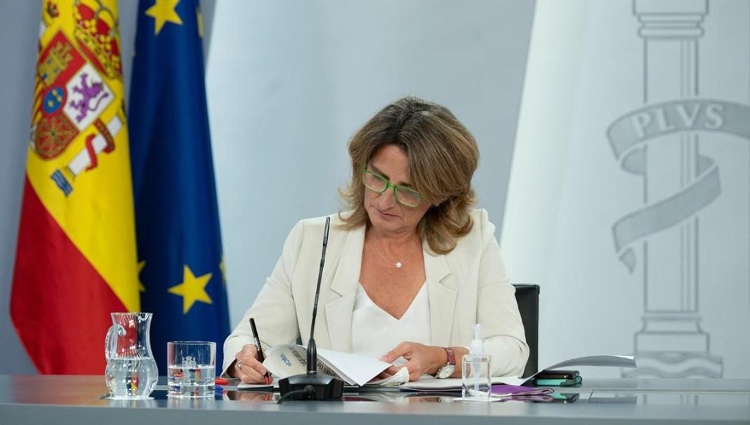 Teresa Ribera Moncloa 14SEP2021