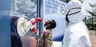 OMS pruebas COVID-19 en Nigeria