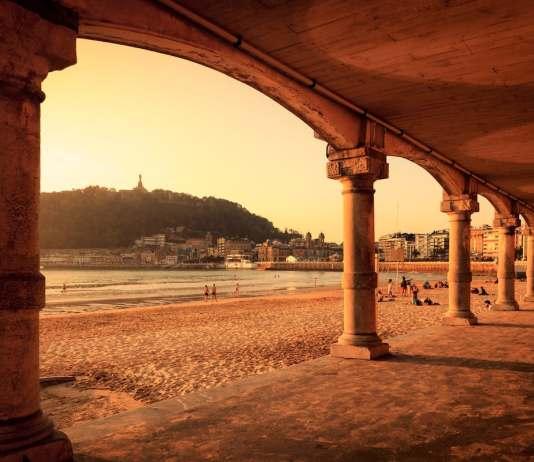 San Sebastián playa de la Concha
