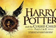 "Cartel de la adaptación teatral de la saga de Harry Potter: ""Harry Potter and the Cursed Child"""