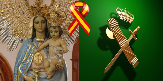 La Virgen del Pilar, patrona de la Guardia Civil