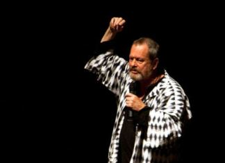 El director de cine británico Terry Gilliam