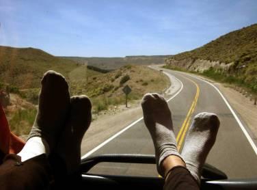 Going to SAN MARTIN DE LOS ANDES, Patagonia, Argentina