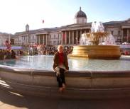 [ Trafalgar Square, LONDON, England ]