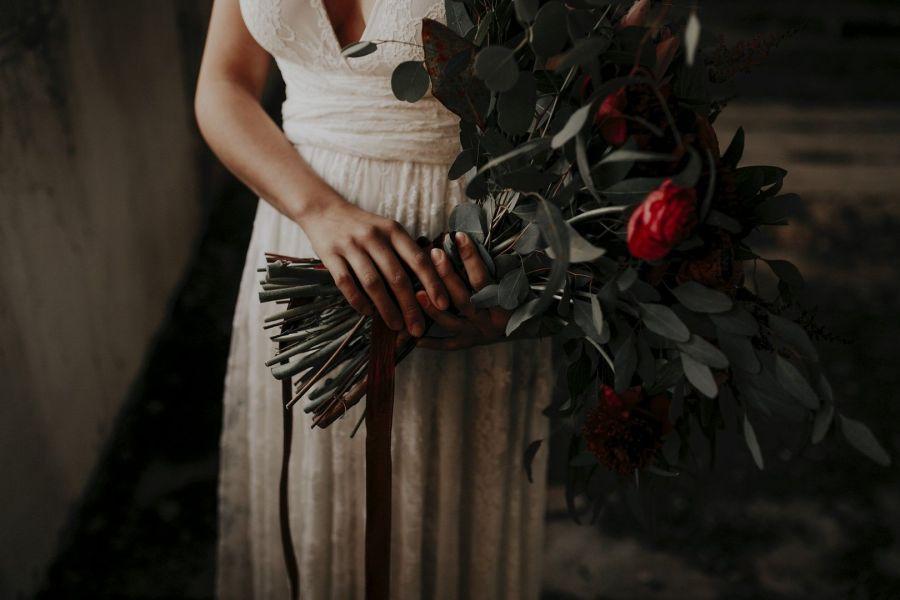 ramo de novia bohemio