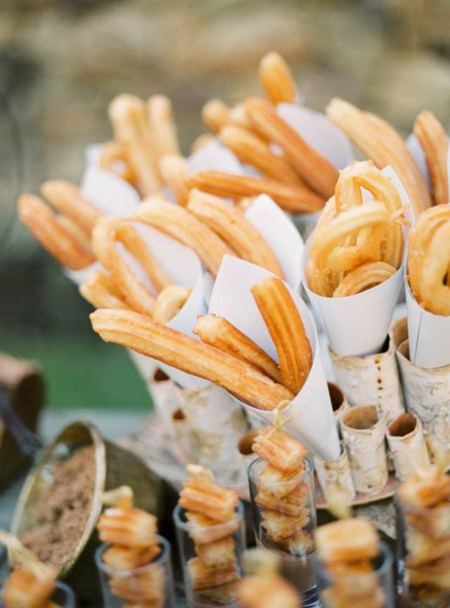 churros en boda original