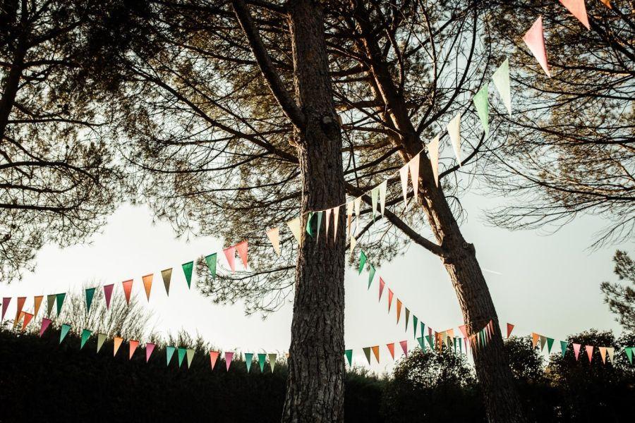 banderienes boda