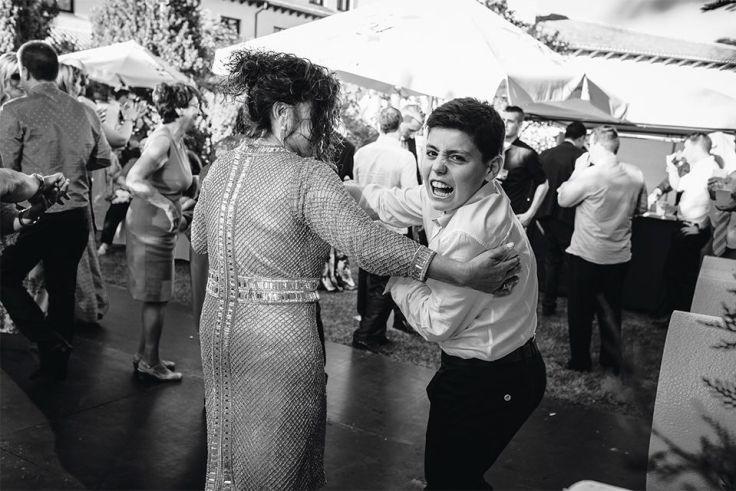 Baile por parejas juego boda