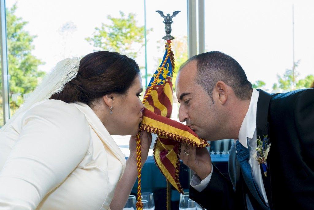 La boda valenciana de Óscar y Almudena