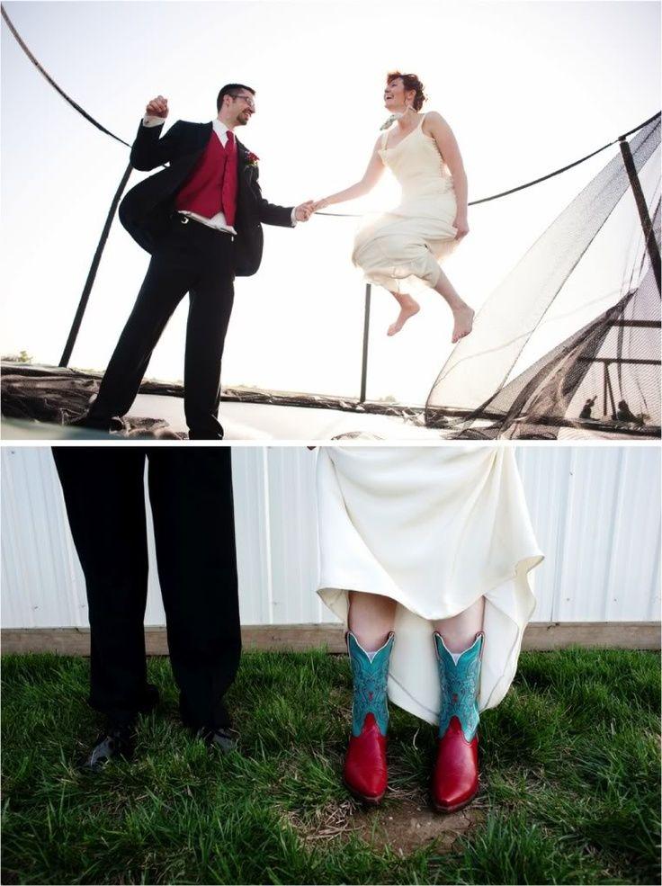 cama elastica boda divertida