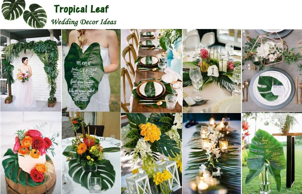 inspiracion boda tropical