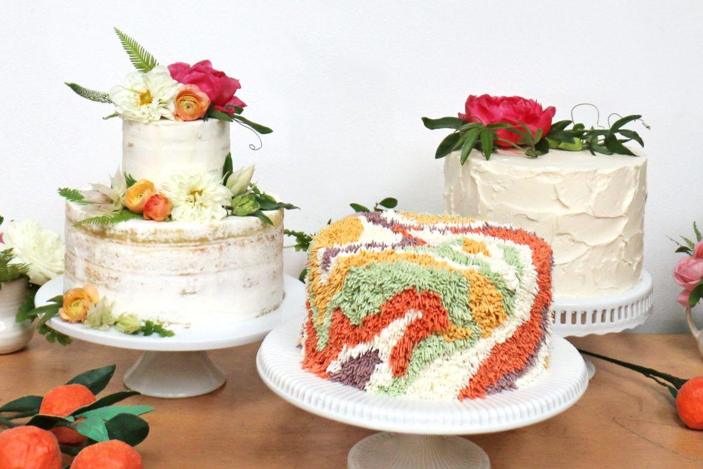 Nueva tendencia en tartas las shaggy cake