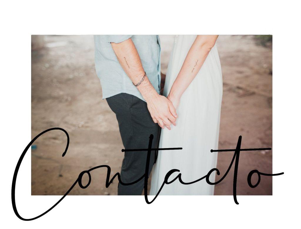 Contacto - Aqui Empieza Todo Eventos y bodas