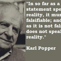 "Karl Popper: ""Falsacionismo"" / ""Principio de Falsabilidad"".-"