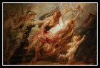 """Hades Snatches Up Persephone"", by Peter Paul Rubens. (1636).-"