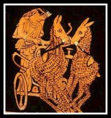 The Chariot of Artemis. Attic Red Figure. 460 - 440 B.C.