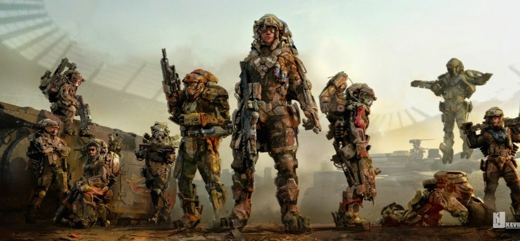 soldados. Kevin Jenkins artwork
