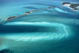 Bermuda Triangle from Above