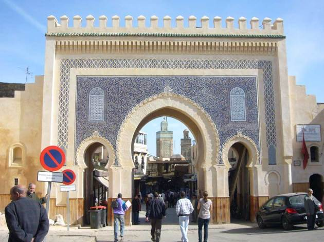 blue gate