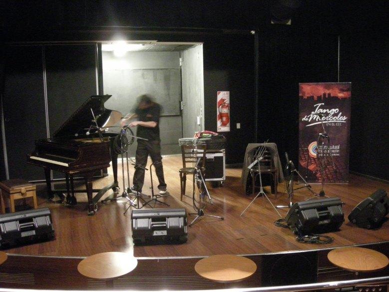escutar tango em Buenos Aires centro cultural de la cooperacion