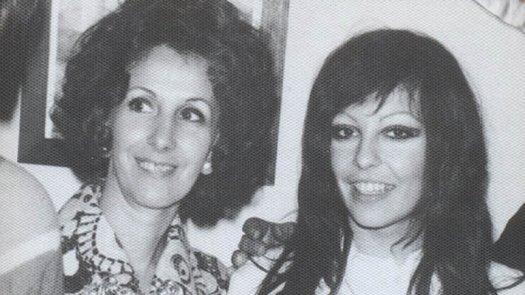 Estela e a filha Laura