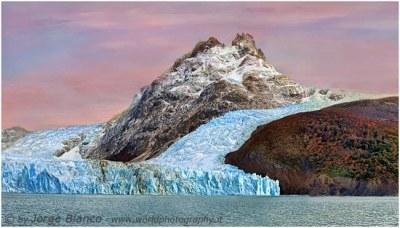 el calafate Jorge Blanco - glaciar Spegazzini