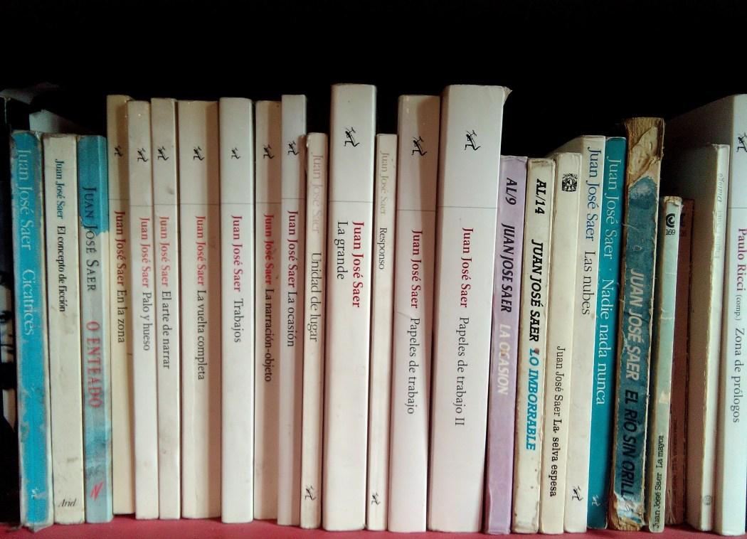 juan jose saer livros