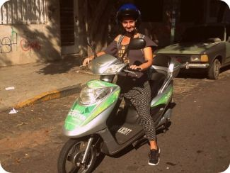 scooter ecologicca_green scooter
