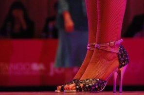 O primeiro sapato de tango