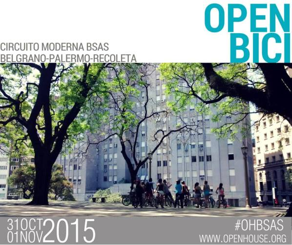 Open House 2015 Open Bici