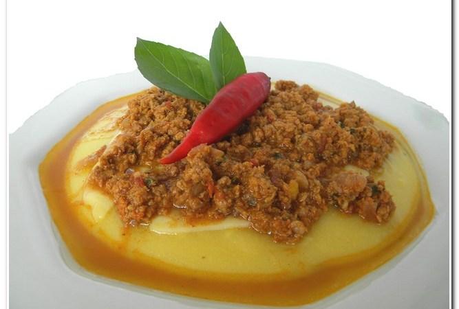 Receita de polenta cremosa