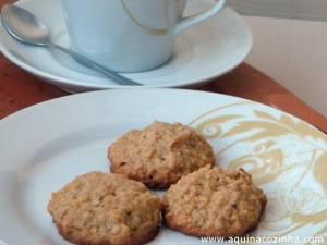 Receita de biscoito de aveia e mel