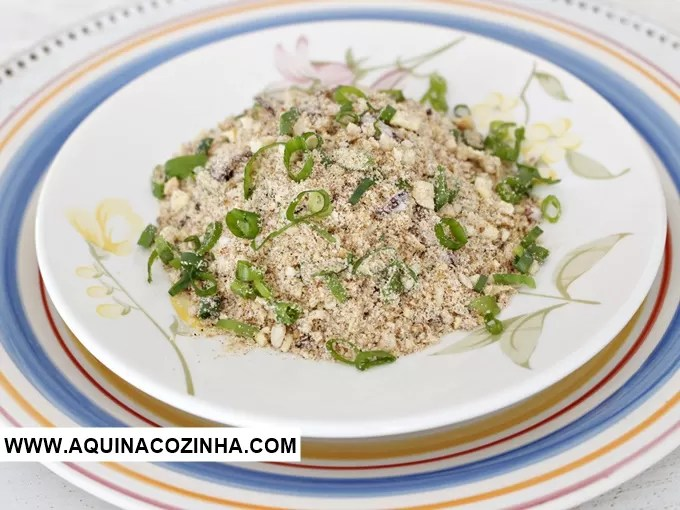 Farofa low carb