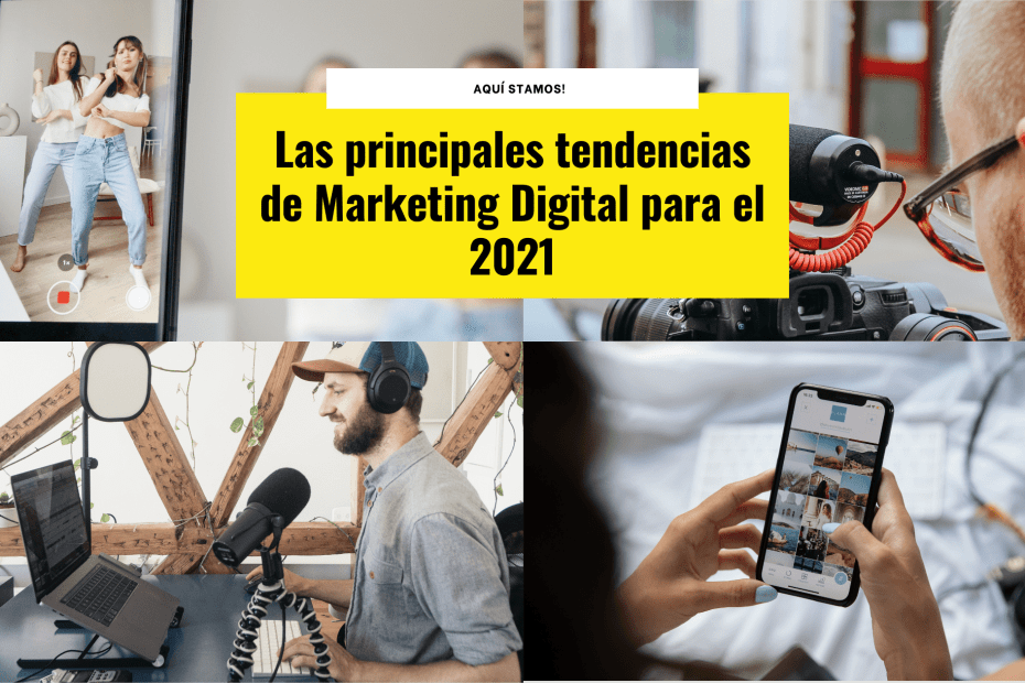 Portada Tendencias Marketing Digital 2021
